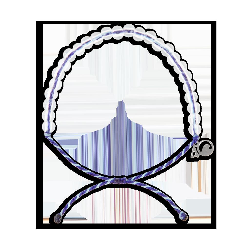 4Ocean Harfenrobbe Armband - klassisch