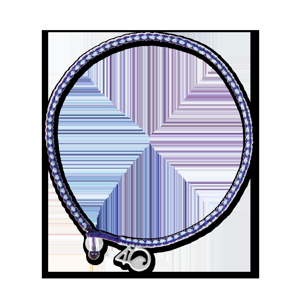 4Ocean Harfenrobbe Armband - geflochten