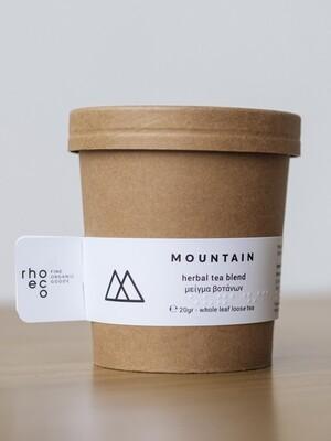 Bio-Tee mit Berg Aroma - erst trinken, dann anpflanzen