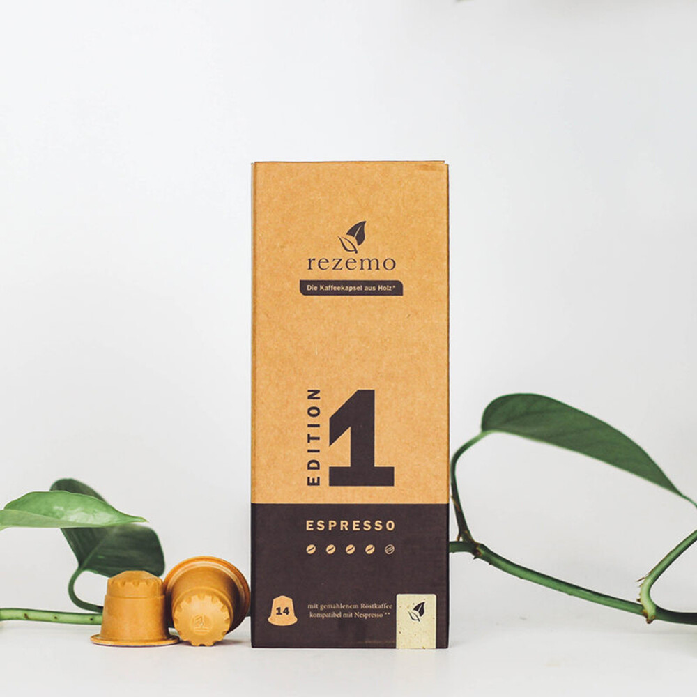 Nachhaltige Kaffeekapseln für Nespresso Maschinen - Edition 1 Espresso