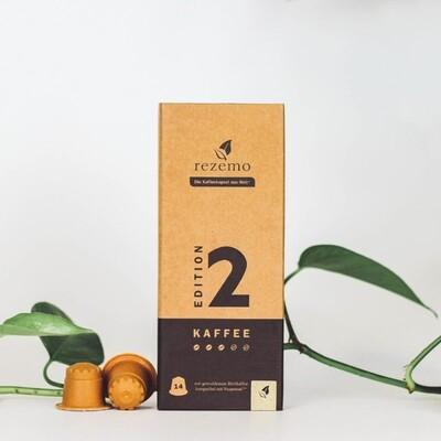 Nachhaltige Kaffeekapseln für Nespresso Maschinen - Edition 2 Lungo