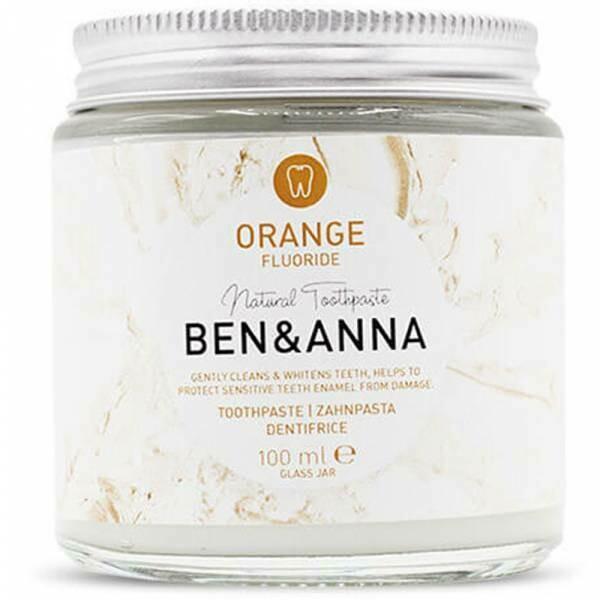 Vegane BEN & ANNA Zahnpasta – Orange mit Fluorid