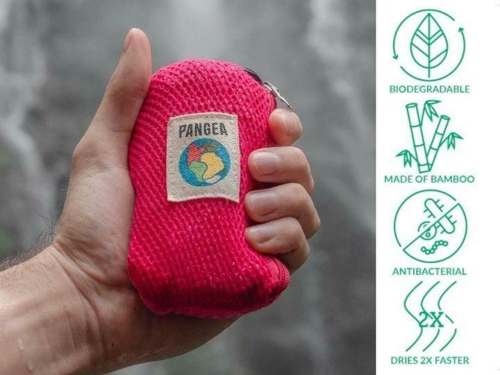 Nachhaltiges Outdoor Towel Set in zwei Farben erhältlich