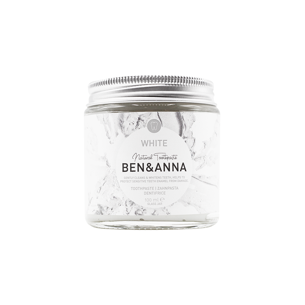 Vegane BEN & ANNA Zahnpasta – White