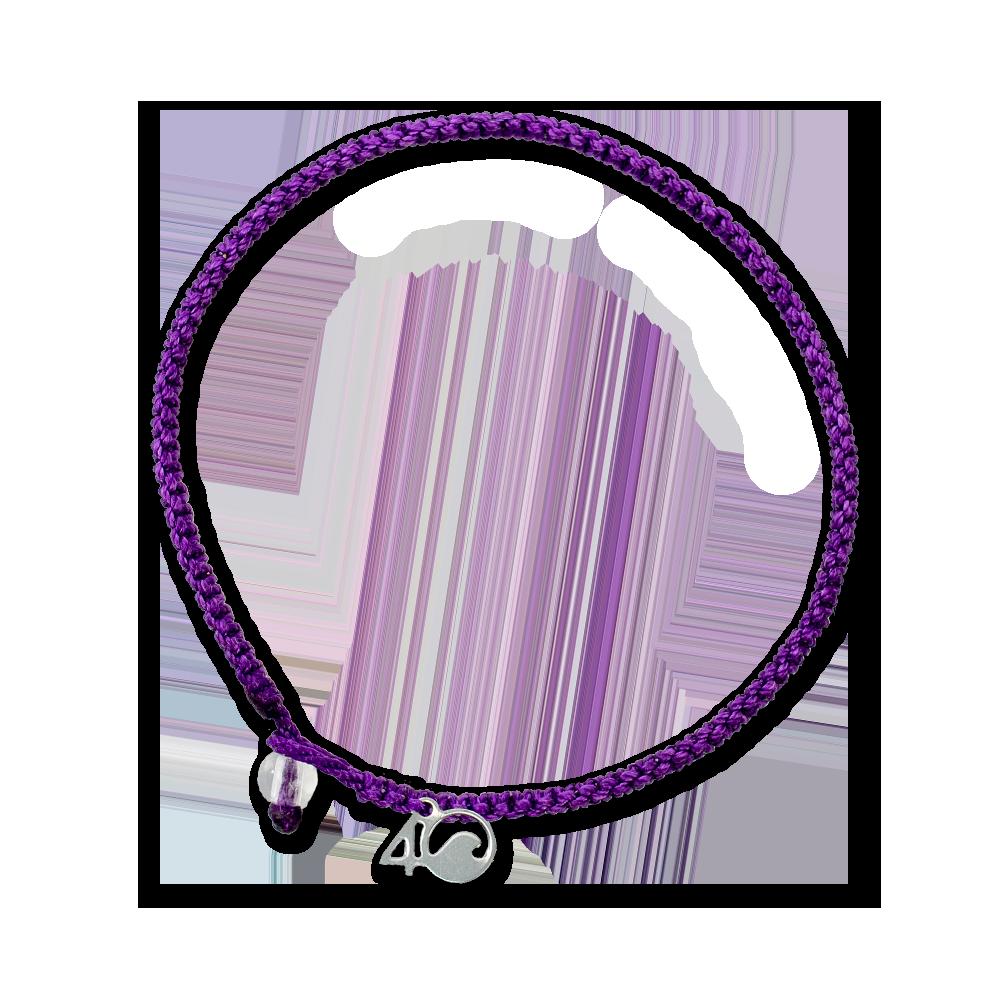4Ocean Mönchsrobben Armband - geflochten