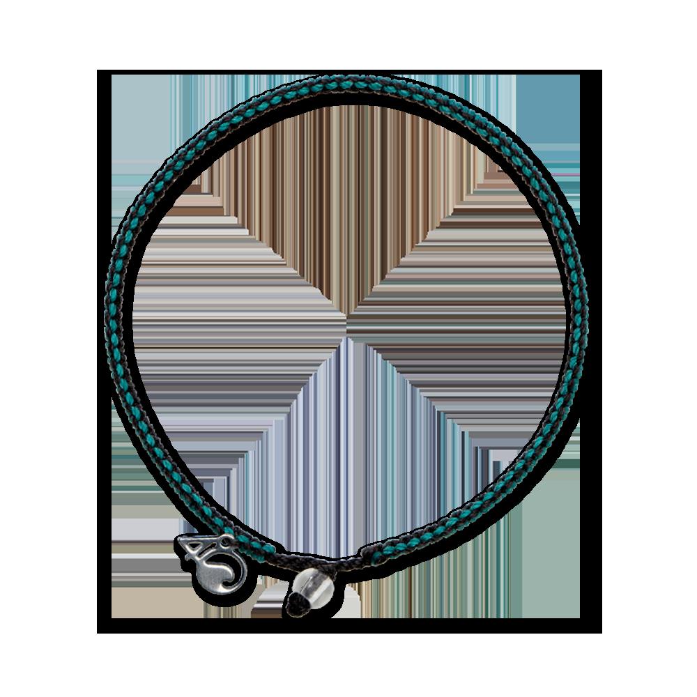 4Ocean Seeotter Armband - geflochten