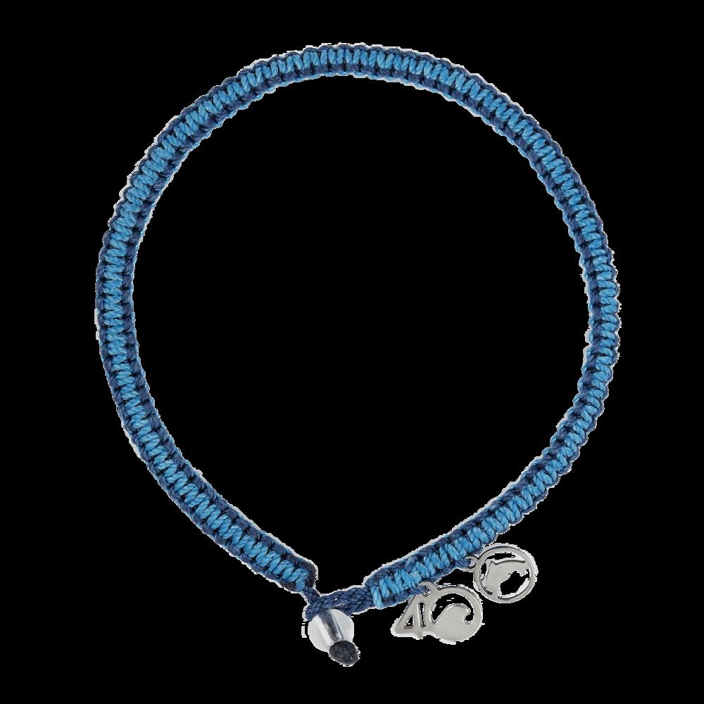 4Ocean Grosser Tümmler Armband - geflochten