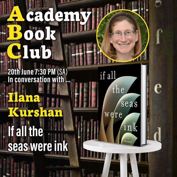 Book club with Ilana Kurshan