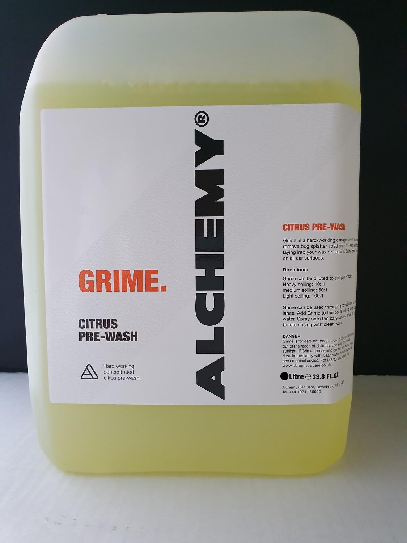 ALCHEMY  GRIME CITRUS PRE-WASH 5LT