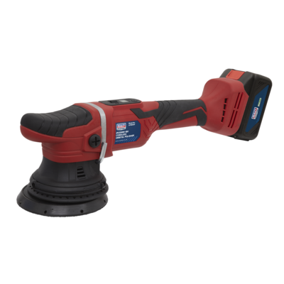 SEALEY Cordless Orbital Polisher Ø125MM 18V Li-ion