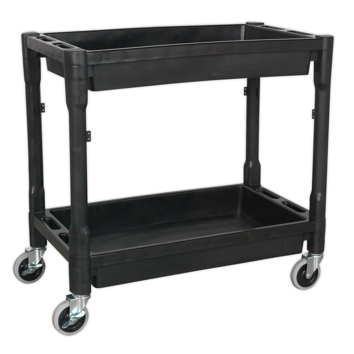 SEALEY  Trolley 2 Level Composite Heavy Duty - Black