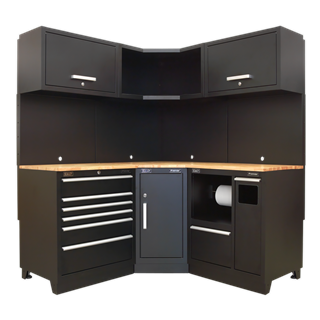 SEALEY Modular Cabinet Combo Oak   APMSCOMBO6W