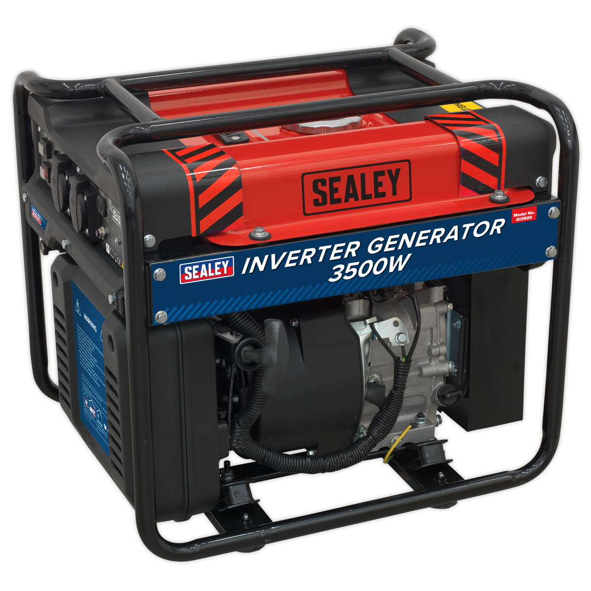SEALEY Inverter Generator 3500W 230V 4-Stroke Engine