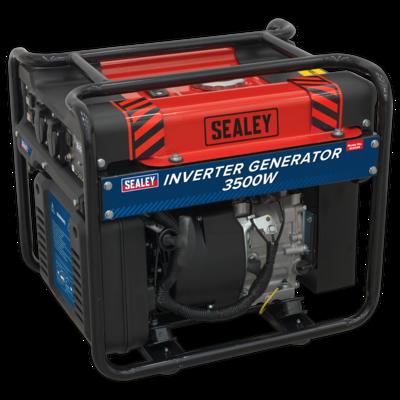 SEALEY Inverter Generator 3500W 230V 4-Stroke Engine