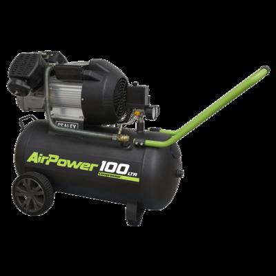 SEALEY Compressor 100L V-Twin Direct Drive 3hP