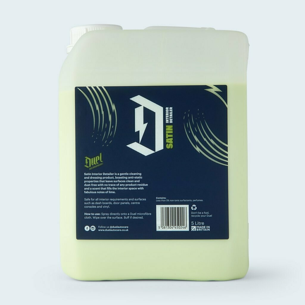 DUEL SATIN - Interior Dressing & Cleaner