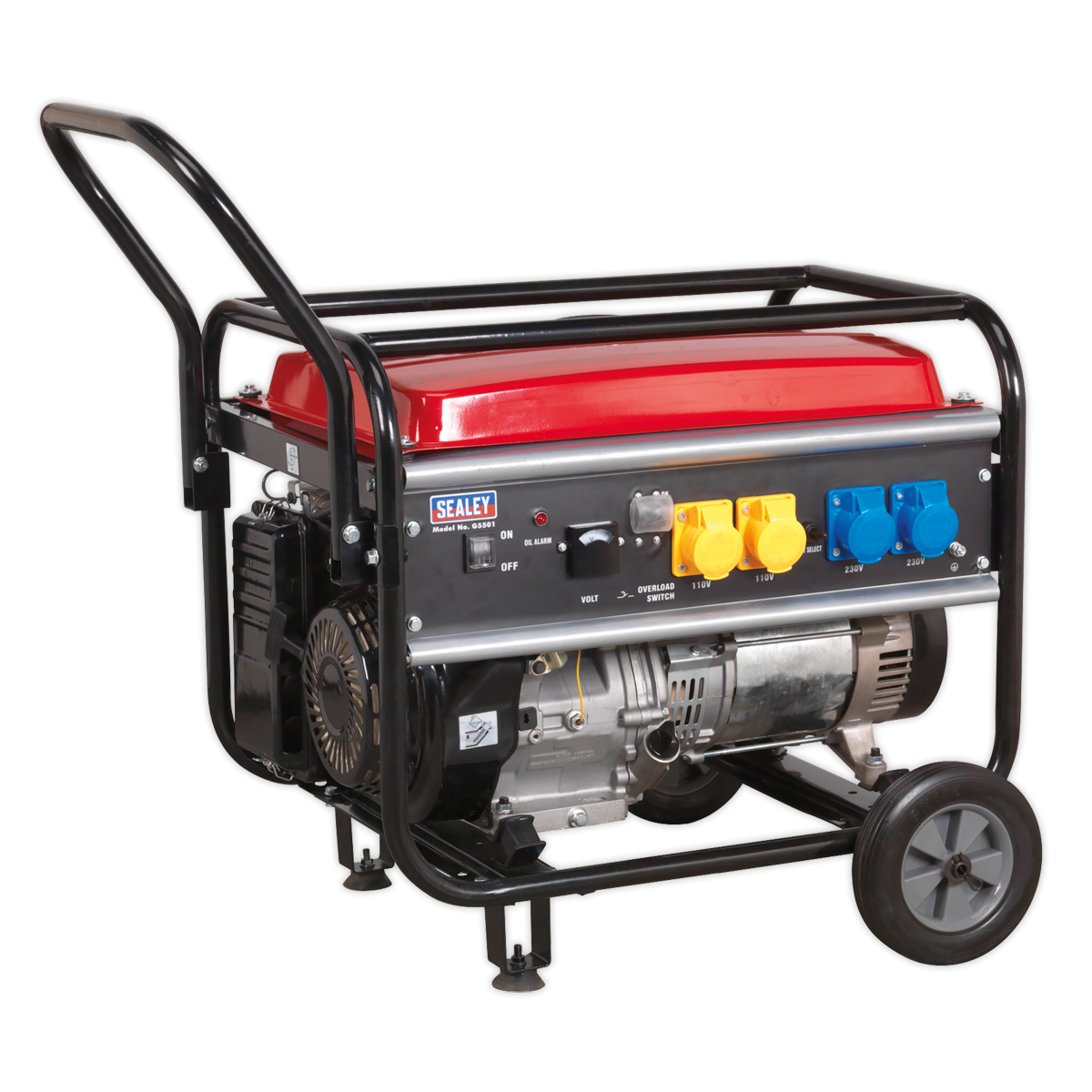 SEALEY Generator 5500W 110/230V 13hp