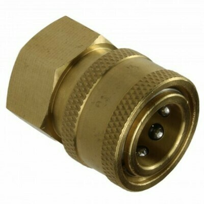 BRASS QUICK RELEASE COUPLING 3/8