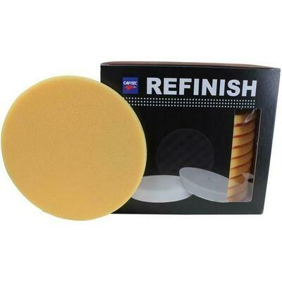 CARTEC Yellow Refinish PRO Compounding Pad 135x12mm