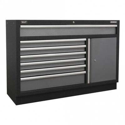 SEALEY Modular 7 Drawer Floor Cabinet 1360mm