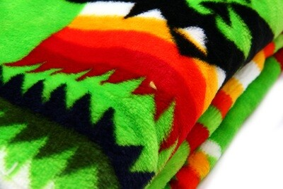 Neon Green Soft Blanket- Full Size