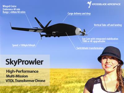 Krossblade SkyProwler VTOL