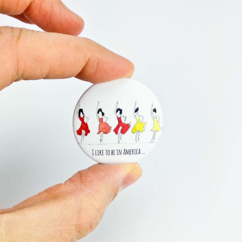Badge Danseuses