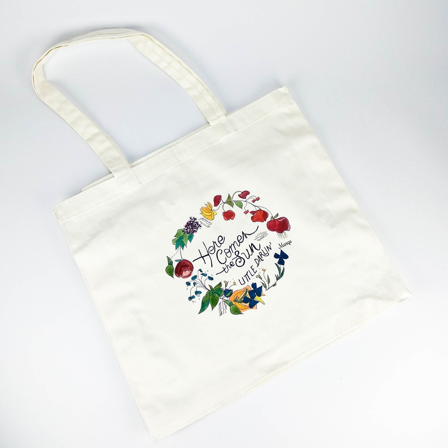 Tote bag Here comes the sun