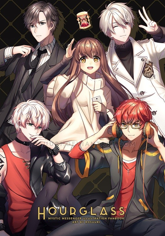 Hourglass Mystic Messenger Fanbook Reprint