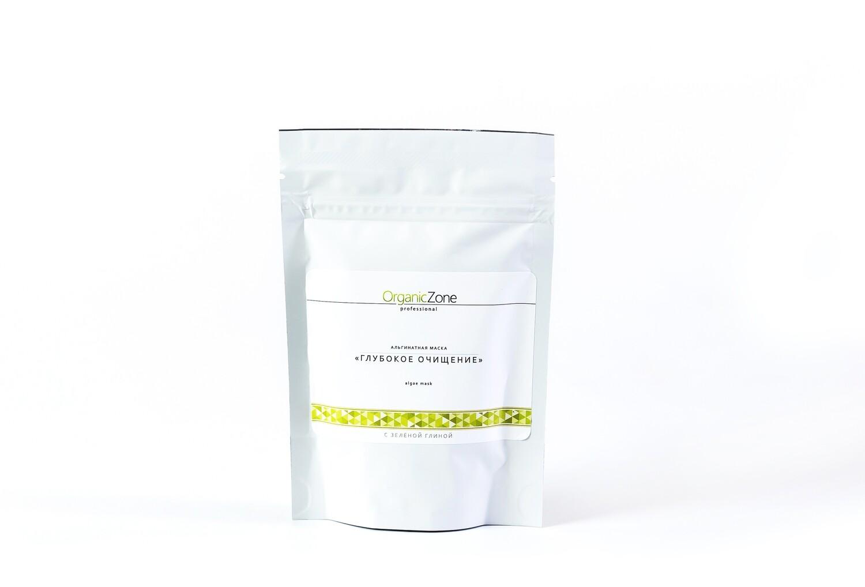 """Альгинатная маска """"Глубокое очищение""""  OZ! OrganicZone"""