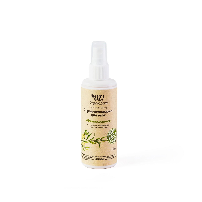 """Дезодорант для тела с эфирными маслами """"Чайное дерево"""" OZ! OrganicZone"""