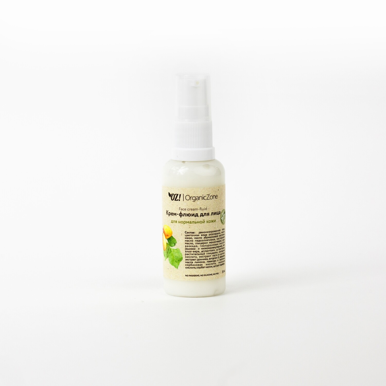 Крем-флюид для лица для нормальной кожи OZ! OrganicZone