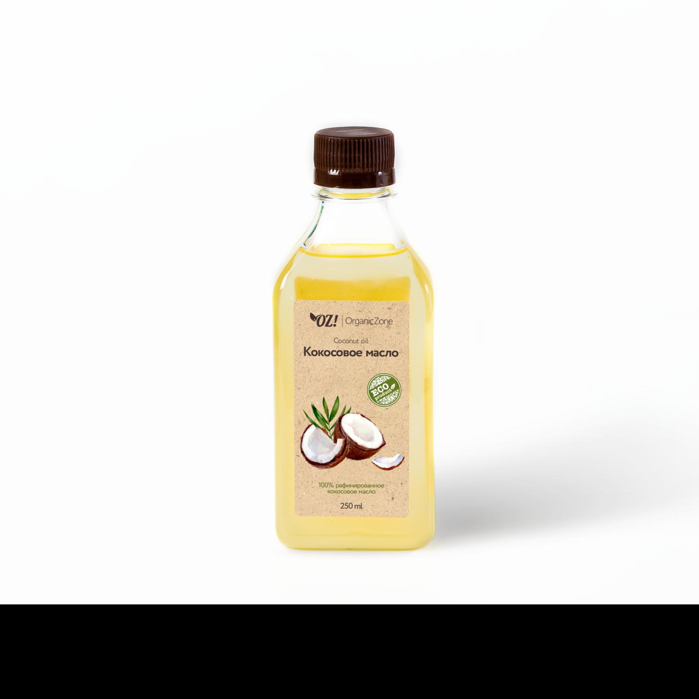 Масло кокосового ореха  OZ! OrganicZone