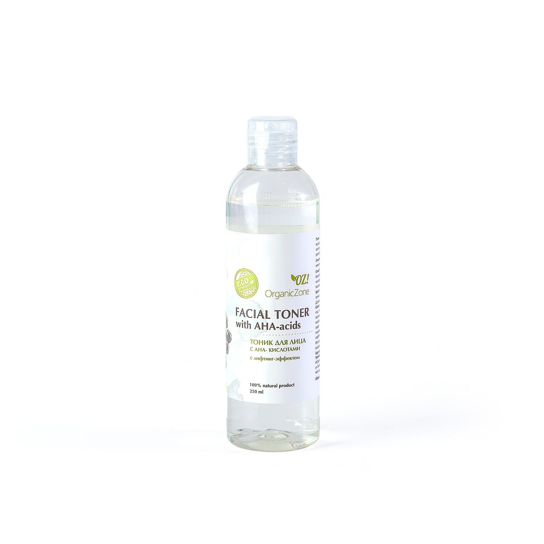 Тоник для лица с АНА-кислотами с лифтинг-эффектом OZ! OrganicZone
