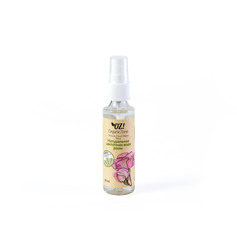 Цветочная вода Розы OZ! OrganicZone