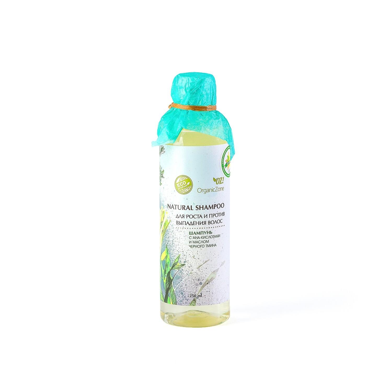 """Шампунь с АНА-кислотами """"Для роста и против выпадения волос"""" OZ! OrganicZone"""