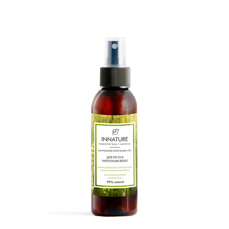 Натуральный спрей-концентрат для роста и укрепления волос  INNATURE