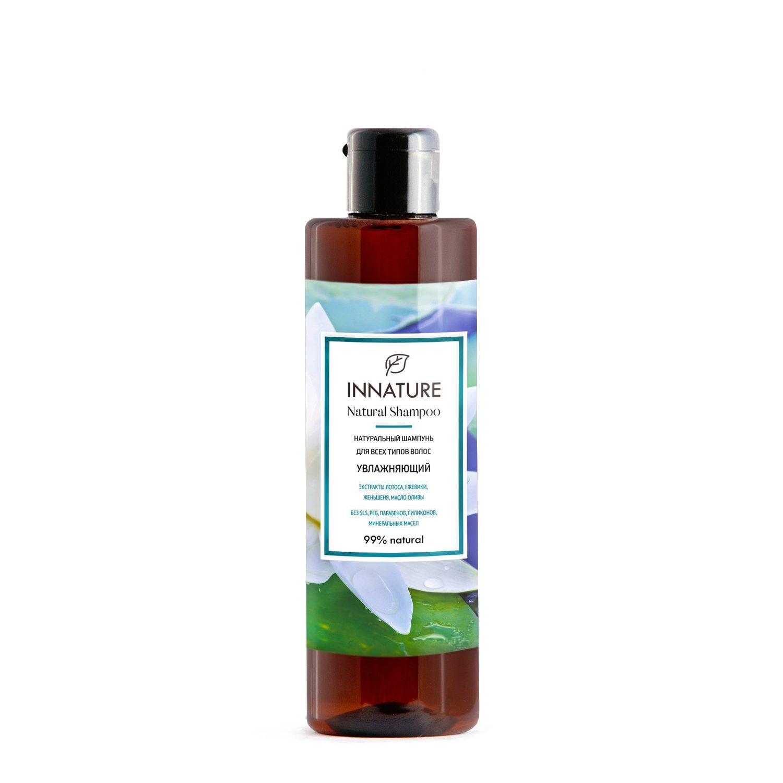 """Натуральный шампунь для всех типов волос """"Увлажняющий""""  INNATURE"""