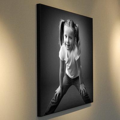 Carte cadeau pour un portrait en WOODART 30x30