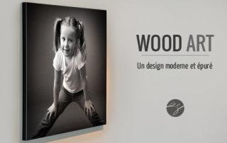 Carte cadeau pour un portrait en WOODART 50x50