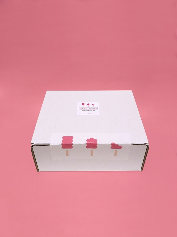 Mixed Box of 12 Kombucha Popsicles