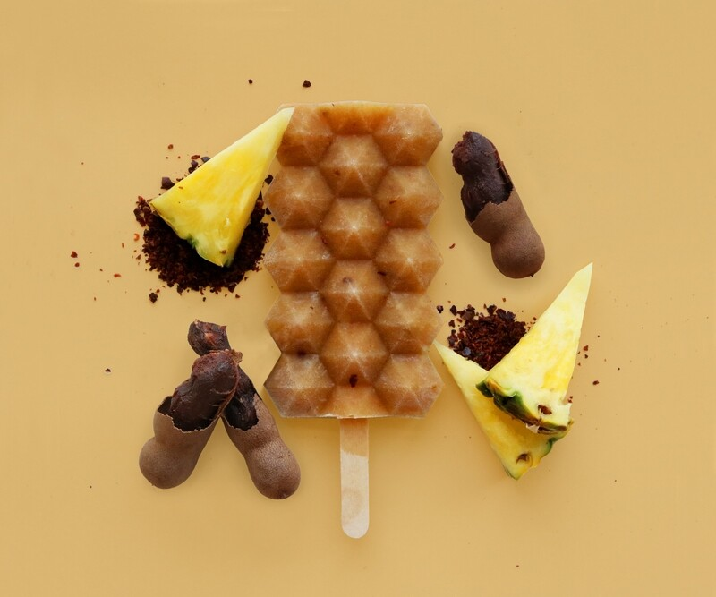 Box of 12 Chili Pineapple Tamarind Popsicles