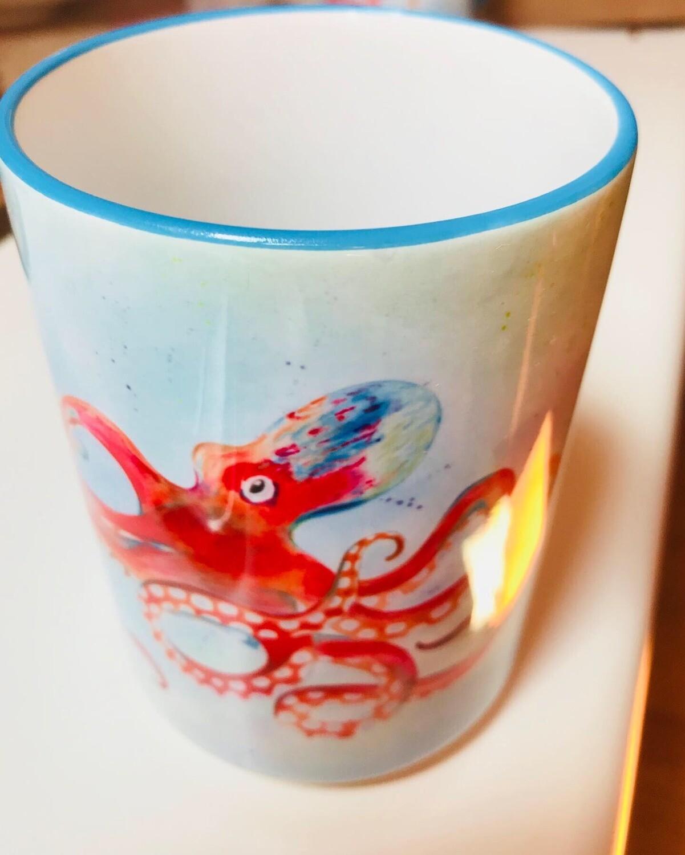 Leo the Octopus Mug - Large