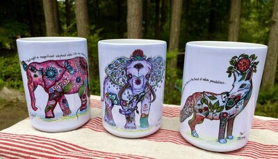 Large Custom Mugs