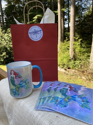 Large Mug and Notecards Gift Set