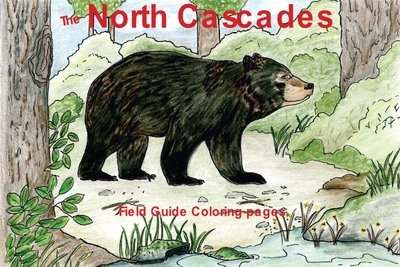 North Cascade Field Guide Coloring Book