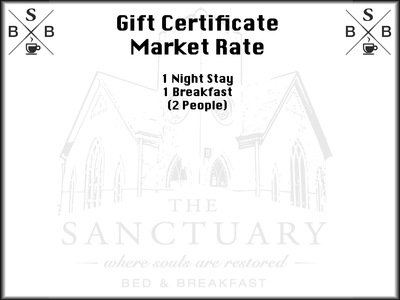 Gift Certificate - Market Rate