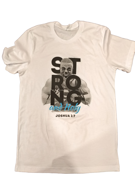 Strong and Holy Men's T-shirt