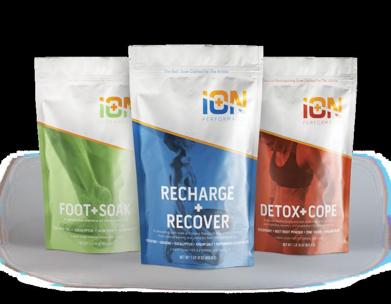iON 3 Soak, Foot Care, Preparation, Recovery, Detox
