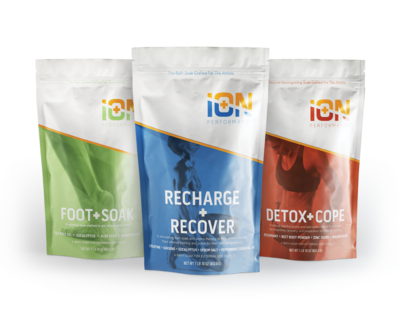 iON 3 Soak, Foot Care, Preparation, Recovery, Detox